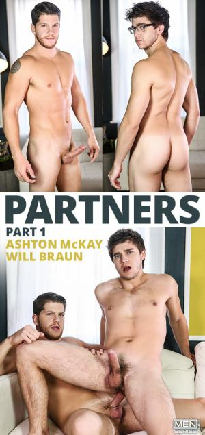 DrillMyHole – Partners Part 1 – Ashton McKay fucks Will Braun – Men.com
