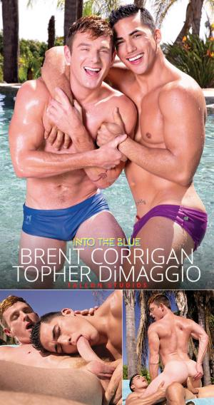 FalconStudios – Into the Blue – Brent Corrigan rides Topher DiMaggio