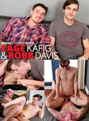 BrokeStraightBoys – Cage Käfig and Robb Davis flip fuck raw