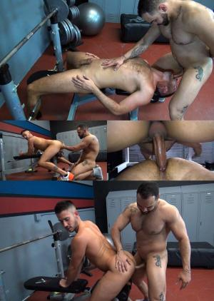 RawFuckClub – Loaded Up at the Gym – Owen Powers & Alejandro Fusco – Bareback