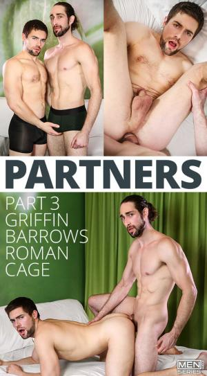 DrillMyHole – Partners, Part 3 – Roman Cage fucks Griffin Barrows – Men.com