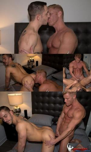 AmericanMuscleHunks – Bryan Cole & Johnny V