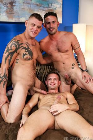 ExtraBigDicks – My Husband's Big Cock – Jace Chambers, Conner Mason & Cesar Rossi
