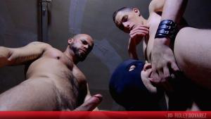 YoungBastards – A Hard DP Lesson For Greg Ken's Hole – Fabien Fleury, Greg & Delta Kobra
