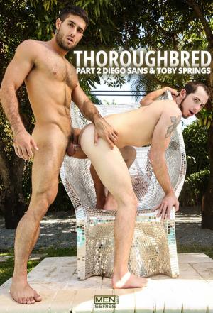 DrillMyHole – Thoroughbred, Part 2 – Diego Sans fucks Toby Springs – Men.com