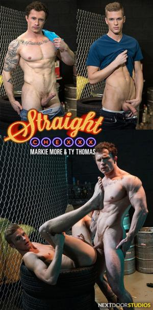 NextDoorStudios – Straight Chexxx, Episode 2: Noises Off – Markie More fucks Ty Thomas