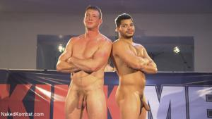 NakedKombat – Hot newcomer Pierce Hartman challenges Kaden Alexander