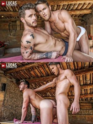 LucasEntertainment – Josh Rider Bottoms For Marq Daniels' Raw Uncut Cock
