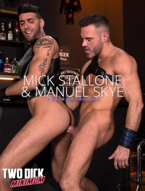 RagingStallion – Two Dick Minimum – Manuel Skye and Mick Stallone flip fuck