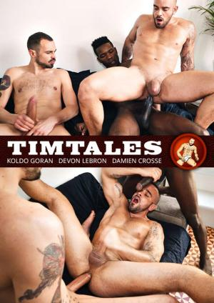 TimTales – Damien Crosse gets pounded raw by big-dicked studs Devon Lebron and Koldo Goran