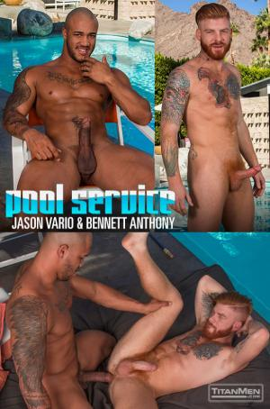 TitanMen – Pool Service – Jason Vario fucks Bennett Anthony