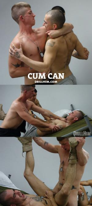 DrillHim – Cum Can – Bareback