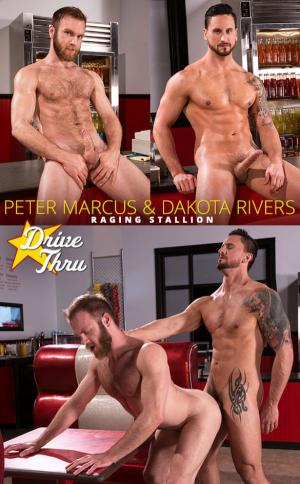 RagingStallion – Drive Thru – Dakota Rivers bangs Peter Marcus