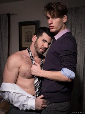 IconMale – Late Night at the Office – Billy Santoro & Zack Grayson