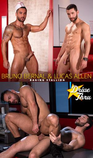 RagingStallion – Drive Thru – Lucas Allen fucks Bruno Bernal