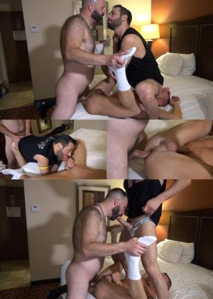 RawandRough – 2 Bottoms and 2 Loads – Boy Fillmore, Matt Hart & Milan Gamiani – Bareback