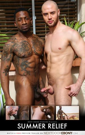 NextdoorEbony – Summer Relief – Rio B Fucks Brendan Phillips