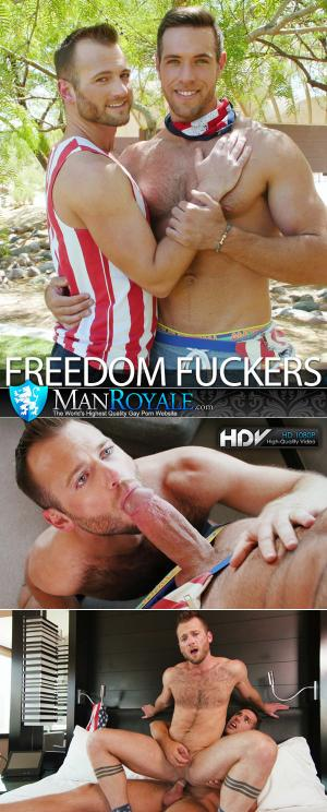 Manroyale – Freedom Fuckers – Alex Mecum Fucks Aiden Hart