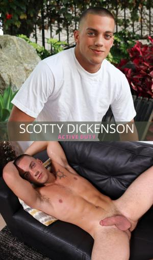 ActiveDuty – Scotty Dickenson rubs one out – Solo