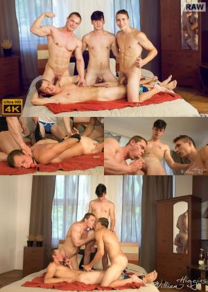 WilliamHiggins – Wank Party #86, Part1 RAW – WANK PARTY – Igor Tapak, Jan Bavor, Laco Meido & Tono Milos – Bareback