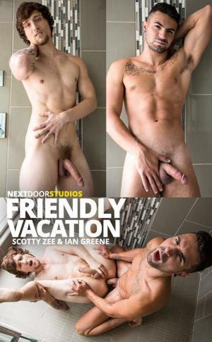 NextDoorRaw – Friendly Vacation – Scotty Zee & Ian Greene flip fuck raw