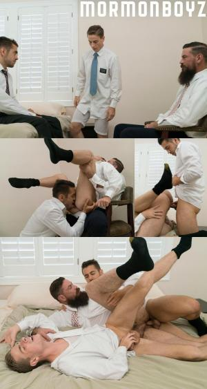 MormonBoyz – Elder Garrett & Brother Calhoun – BROTHER'S OATH – Bareback