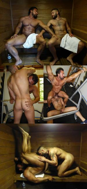 MaverickMenDirects – Big Muscle Pump and Fuck – Bareback