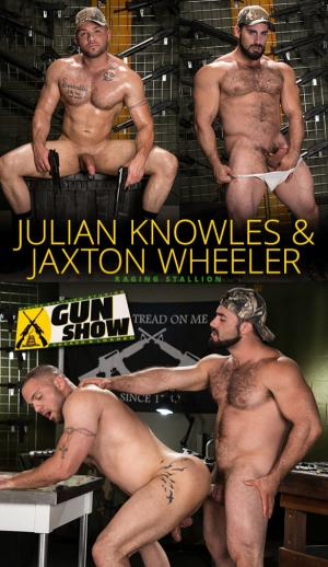 RagingStallion – Gun Show – Jaxton Wheeler bangs Julian Knowles