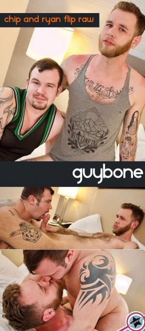 GuyBone – Chip Young & Ryan Powers – Bareback Flip-Fuck