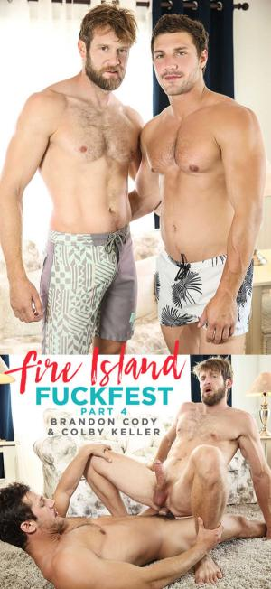 Men.com – Fire Island Fuckfest Part 3 – Brandon Cody fucks Colby Keller – DrillMyHole