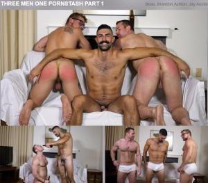 TheGuySite – Three Men One Pornstash Part 2 – Beau, Brandon Ashton & Jay Austin