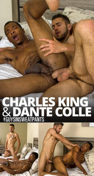 GuysInSweatpants – Charles King takes Dante Colle's loads