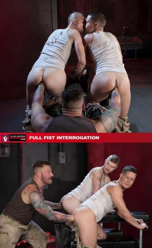 ClubInfernoDungeon – Full Fist Interrogation – Hugh Hunter, Matt Wylde & Ashley Ryder