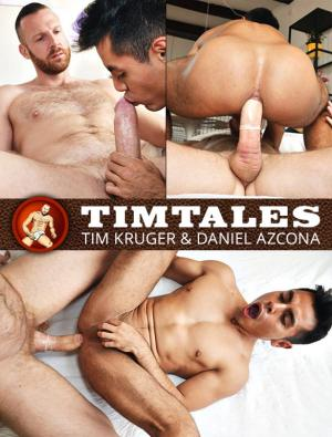 TimTales – Daniel Azcona rides Tim Kruger's thick cock