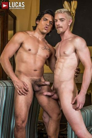 LucasEntertainment – Bottom Boy Bitches – Alejandro Castillo Pounds Cody Winter Rough And Raw