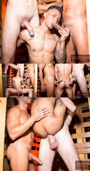 Fuckermate – Raw Threesome At Bears Bar – Ansony & Fabio Toba – Bareback