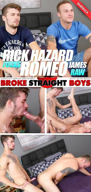 BrokeStraightBoys – Rick Hazard Fucks Romeo James – Bareback