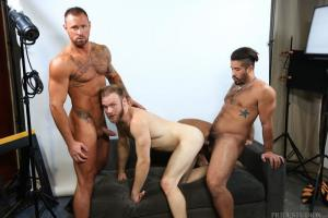 MenOver30 – Our Photographer Is Hot – Trey Turner, Peter Marcus & Michael Roman