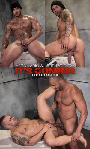 RagingStallion – It's Coming – Jason Vario fucks Lorenzo Flexx