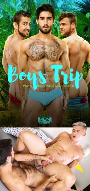 Men.com – Boys Trip Part 3 – Diego Sans fucks Jake Porter – DrillMyHole