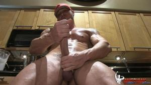 AmericanMuscleHunks – Joeys Baking Accident