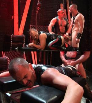 DarkAlleyXT – Shock and Awe Cum Pain – Lord Krshna, Jesse Balboa & Owen Hawk – Bareback
