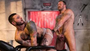FistingCentral – Dr. FrankenFuck's Fist Lab – Hugh Hunter & Teddy Bryce