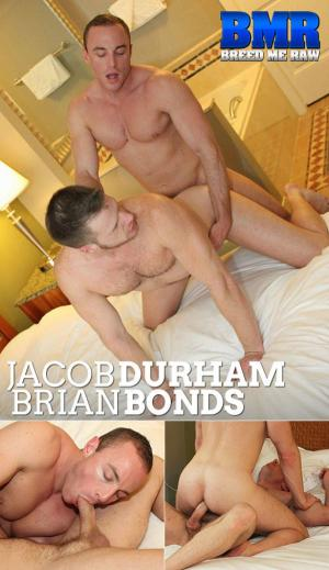 BreedMeRaw – Jacob Durham drills Brian Bonds bareback