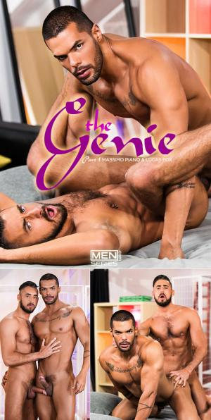 Men.com – The Genie Part 1 – Massimo Piano & Lucas Fox fuck each other – DrillMyHole