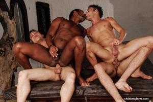 ClubBangBoys – Four Brazilian Guys Fucking On A Pool Table