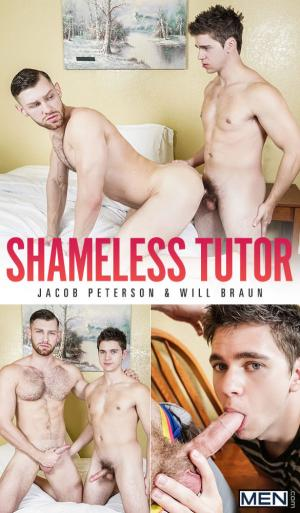 Men.com – Shameless Tutor – Will Braun fucks Jacob Peterson – DrillMyHole