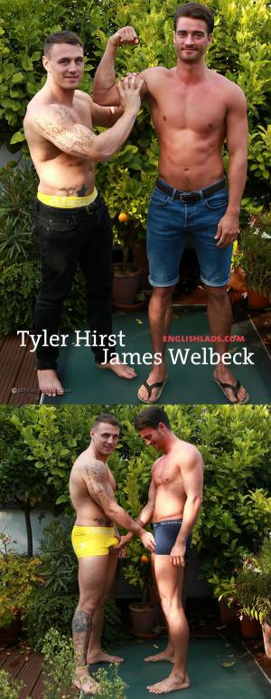 EnglishLads – Straight Lad James Wanks His 1st Cock And Gets His Man Bj – Tyler Hirst & James Welbeck