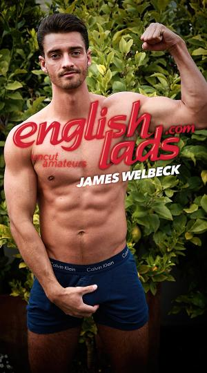 EnglishLads – Straight Hunk James plays with his Hole for the First Time and Cums all over Himself – James Welbeck