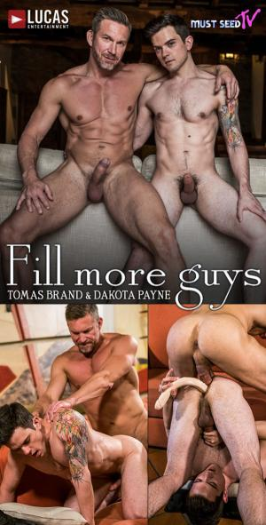 LucasEntertainment – Must Seed TV: Fill More Guys' Scene 2 – Tomas Brand Fucks Dakota Payne – Bareback